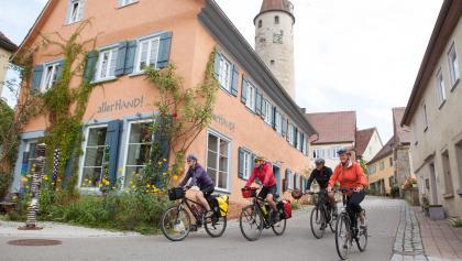 Radler in Kirchberg/Jagst
