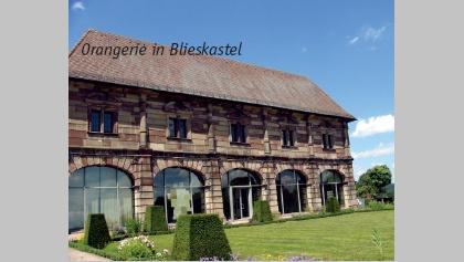 Teil der barocken Schlossanlage: die Orangerie.