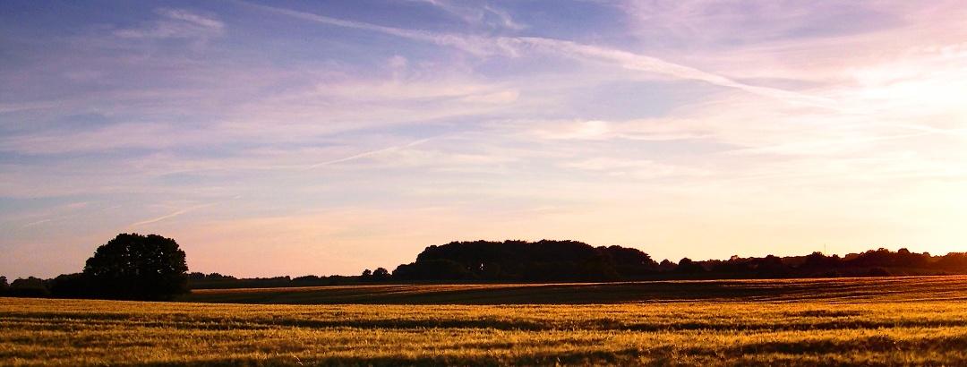Landscape in Schleswig-Holstein