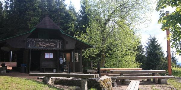 Schutzhütte auf dem Kapfgipfel