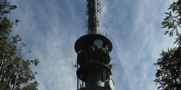 Mit 127 m ist der Sendemast der höchste des Bayerischen Rundfunks.