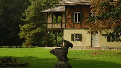 Nördlich des Speichersees erstreckt sich die idyllische Landschaft des Finsinger Mooses.