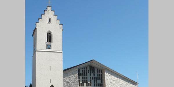 Die Kirche in Gosheim.