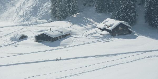 Alpe Melköde im Winter