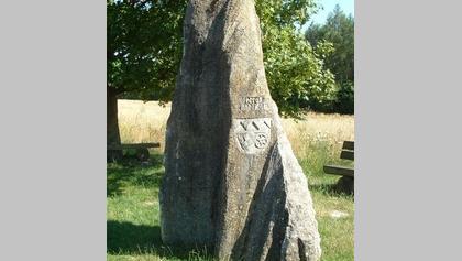 Der Drei-Franken-Stein.
