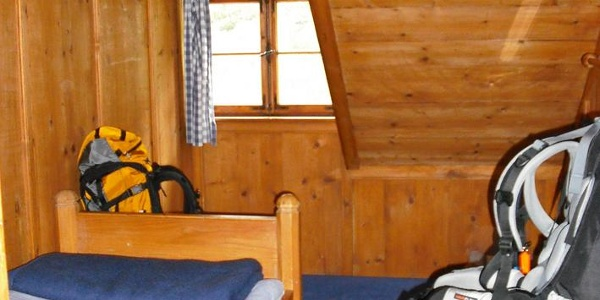 Doppelzimmer in der Berliner Hütte