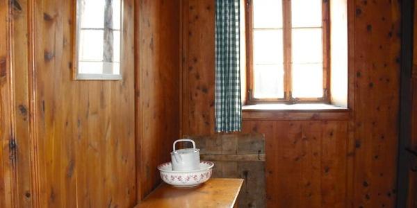 Flur in der Berliner Hütte