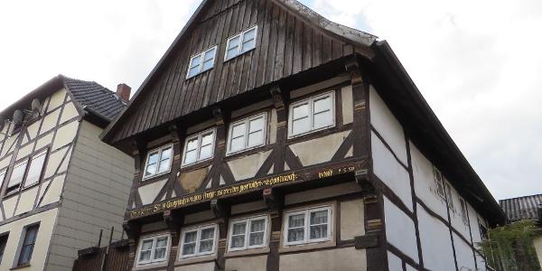 1550 wurde das Fachwerkhaus erbaut