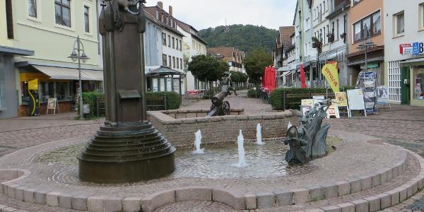 Münchhausenbrunnen in Bodenwerder