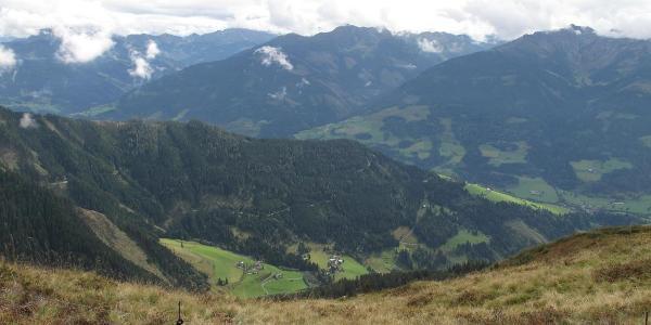 Blick nach Zell am See und Schmittenhöhe