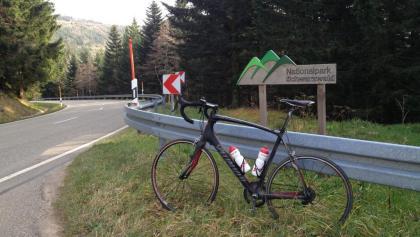 Schwarzwaldhochstraße Nationalpark-Schild