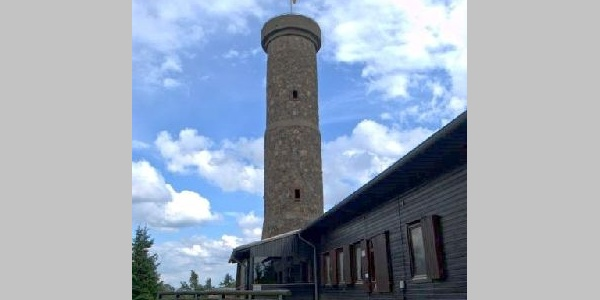 Der Knollenturm - Ziel unserer Wanderung zum Großen Knollen.