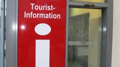 Eingang Tourist-Information