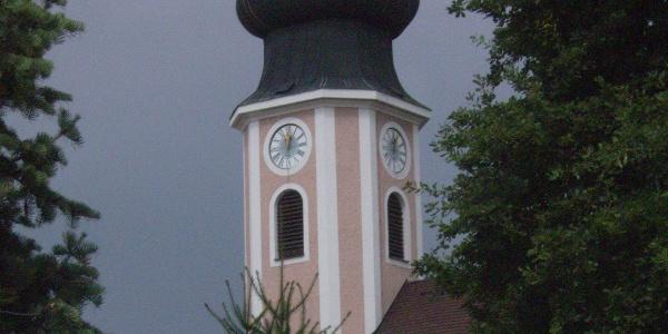 Die Marienkirche in Ruhstorf.