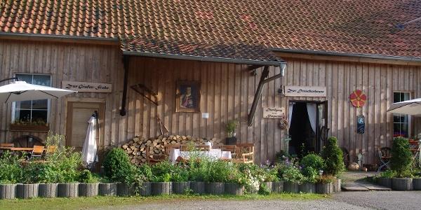 Innenhof der Paradiesmühle