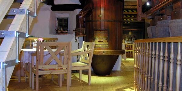 Blick in das Mühlenmuseum