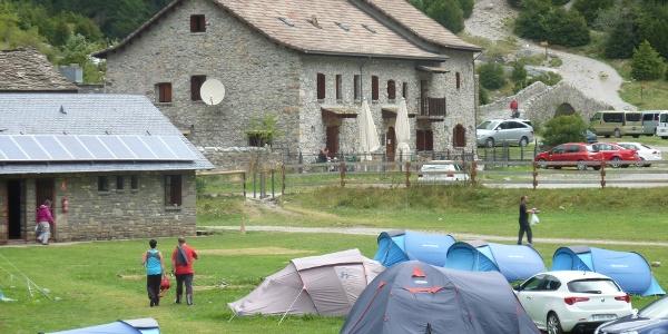 Refugio und Campingplatz Bujaruelo