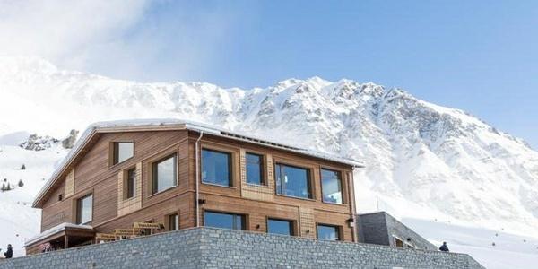 Bergrestaurant Scharmoin Lenzerheide Winter