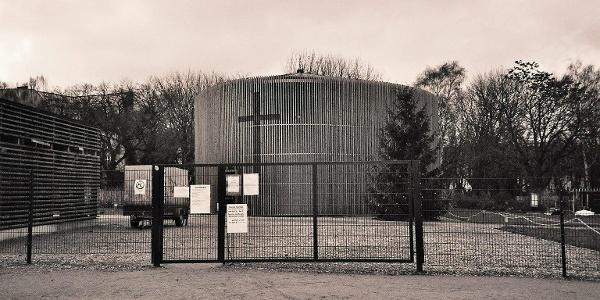 Kapelle der Versöhnung in Berlin Mitte.