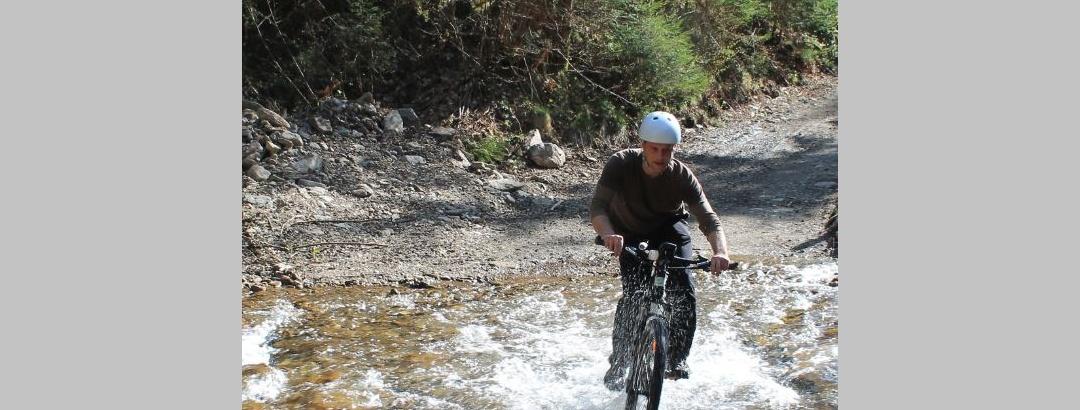 Mountainbiken auf der Saualpe   Eberstein - Diex - Brückl
