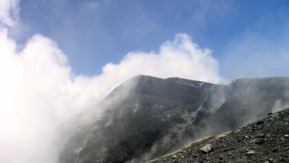 La Voragine - Krater 3305m