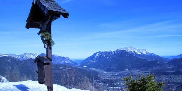 Der Untersberg vom Günstein aus