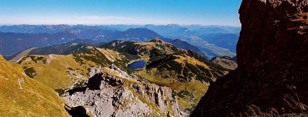 Gipfelglück über dem Zireiner See.