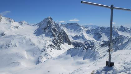 Gipfel des Piz Ursera