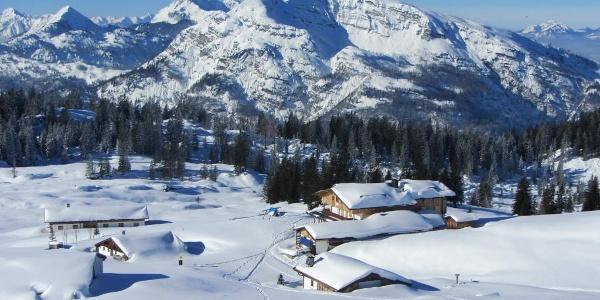 Das Straubinger Haus im Winter