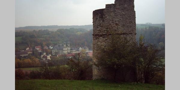 Storchenturm mit Kloster Schöntal