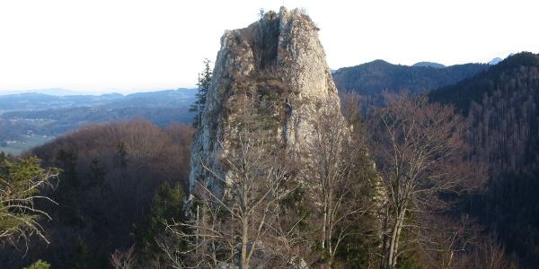 Engelstein Westseite