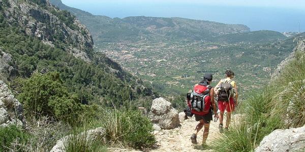 Vista al valle de Sóller