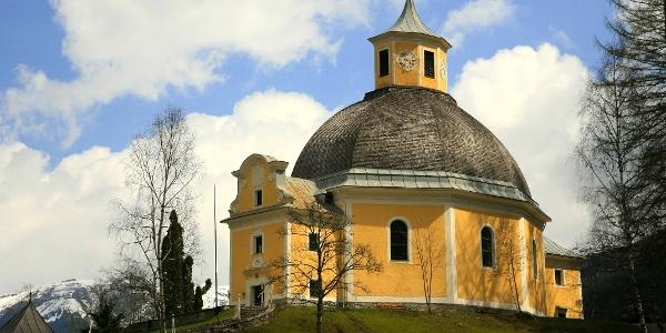 Es lohnt sich ein Besuch der barocken Kirche in Böckstein