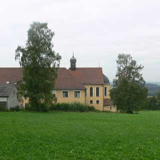 Das Klosterwald nahe bei Hawangen.