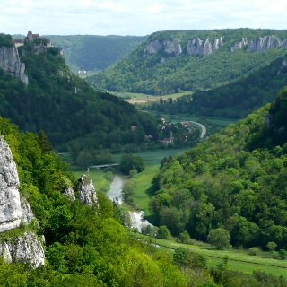 Blick ins Donautal