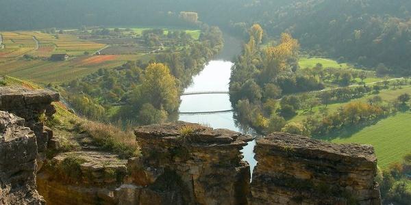 Felsen über dem Neckartal (4)