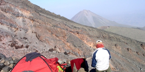 Hochlager Askeri Camp 4130m