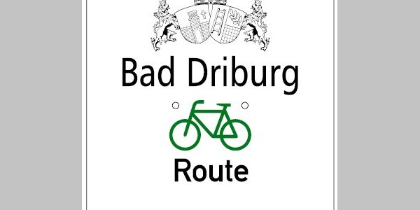 Bad Driburger Radroute, Wegweisung Tour 2