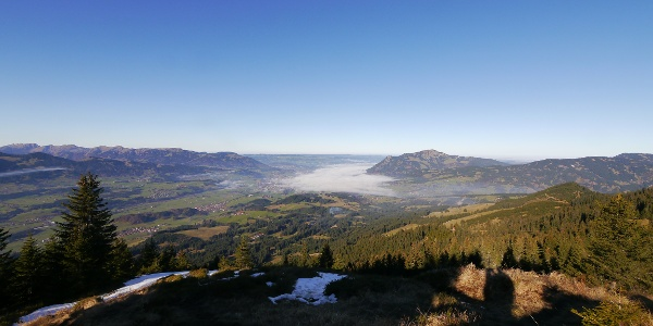 View from the summit of Sonnenkopf
