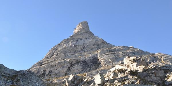 Beeindruckende Felstürme bei der Greizer Hütte.
