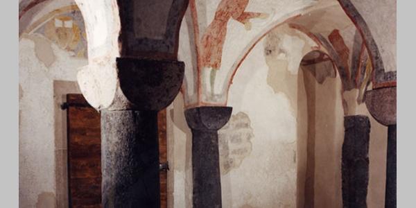 Affreschi della cripta della pieve di Santa Croce
