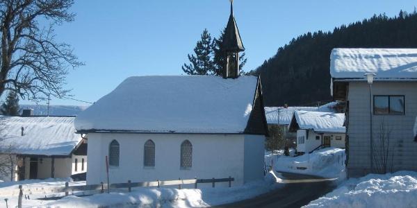 Die Kapelle in Aigis
