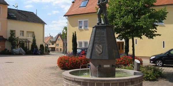 Erzknappenbrunnen Oggenhausen
