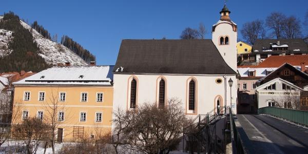 Elisabethkirche im Winter