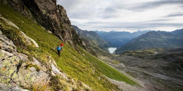 Wanderung in der Silvretta mit Vermuntsee