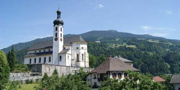 Wallfahrtskirche Mariä Geburt in Tschagguns