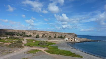 Küstenlandschaft bei Las Salinas