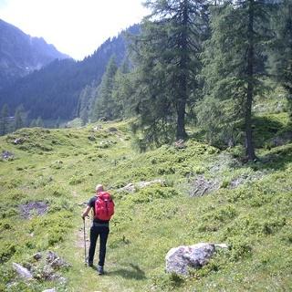 Verso Rifugio Caldenave