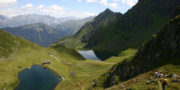 Kälbersee und Schwarzsee