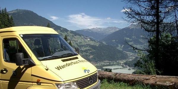 Wanderbus Rellstal